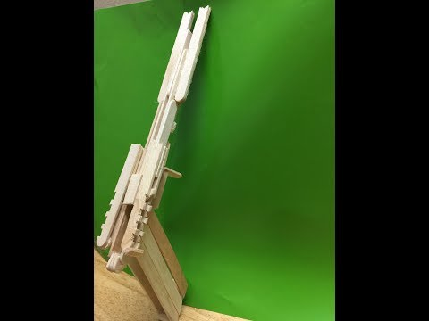 How to Make Magic Rubber Band Gun.