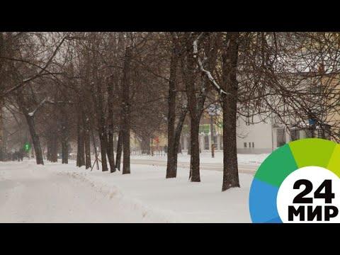 Снегопад и оттепель парализовали Саратовскую область - МИР 24