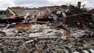 شاهد: الخسائر التي خلفها إعصار مايكل في ولاية فلوريدا الأمريكية…