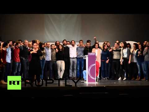 Spain: Pablo Iglesias becomes general-secretary of fast-growing Podemos