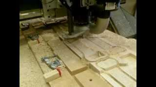 Cnc Routing Solid Maple - Part 2