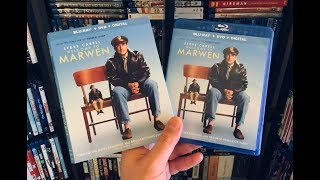 Welcome to Marwen BLU RAY REVIEW + Unboxing