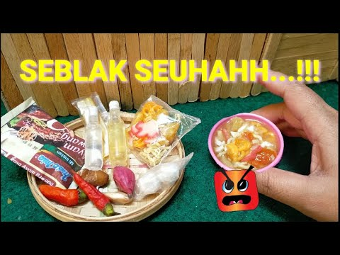 Dapur Barbie Masak Masakan Basreng Seuhahh Tiny Cooking Bahasa Indonesia Youtube