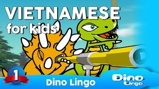 Vietnamese for kids DVD set / children learning Vietnamese - Tiếng Việt