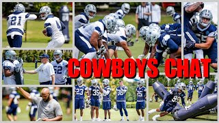 COWBOYS CHAT & ROSTER PREVIEW: What To Look For At OTAs; Rule Changes-Anthem, Helmet, Kickoffs; SIM!