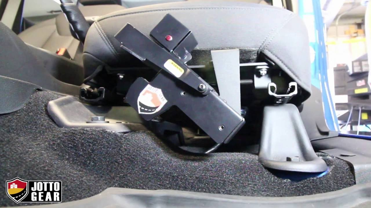 Jeep Wrangler Handgun Holster No Holes Seat Mount Install