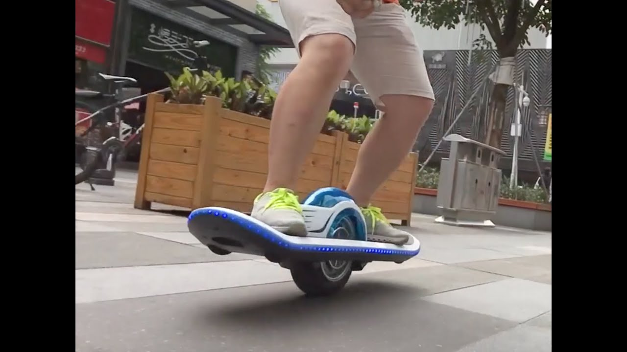 One Wheel Skateboard 10 Inch Wide Hoverboard