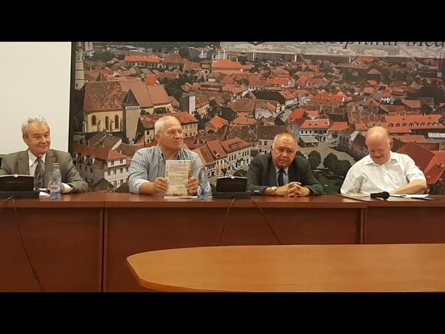 """Lucian Giura despre cartea """"Unele consideraţii privind istoria poştală a Mediaşului"""""""