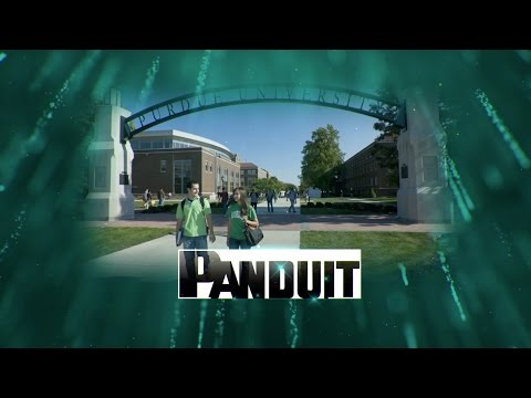 Purdue and Panduit Cabling Innovators Awards 2016