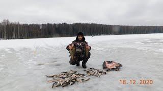 зимняя рыбалка 2020 лещ плотва и окунь