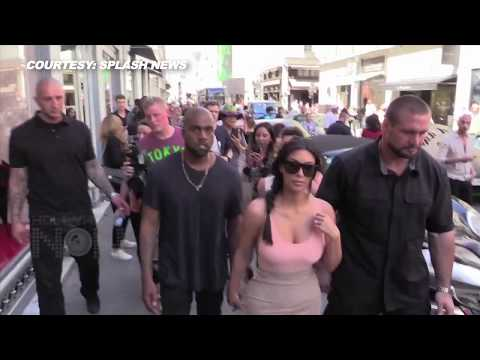 Kanye West FIRST STATEMENT On Kim Kardashian's PARIS ATTACK
