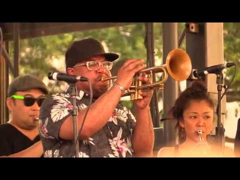 Trumpet Mafia featuring Maurice Brown & Ashlin Parker 5/2/18 New Orleans @ Lafayette Square