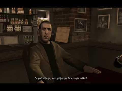 GTA 4   Mission #64 - No Way On The Subway