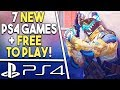 7 NEW PS4 Game Releases THIS WEEK! NEW FREE TO PLAY PS4 Game + More!