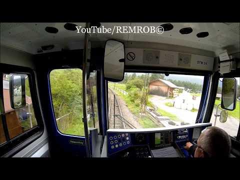 In Train Cab Of Bavarian Zugspitze Train, Alpinspitz To Eibsee