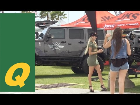 Daytona Jeep Beach 2017 Show and Obstacle Course - YouTube