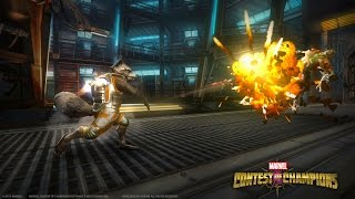 Recruit Rocket Raccoon in Marvel Contest of Champions