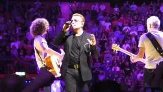 U2 - Angel Of Harlem // Live @Globe Arena, Stockholm 2015-09-17