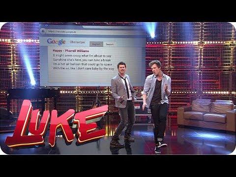 Luke interviewt Thore Schölermann - Zusammen raten sie Lieder - LUKE! Die Woche und ich