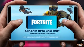 LEFT FORTNITE OFFICIAL ANDROID BETA NOW AVAILABLE DOWNLOAD