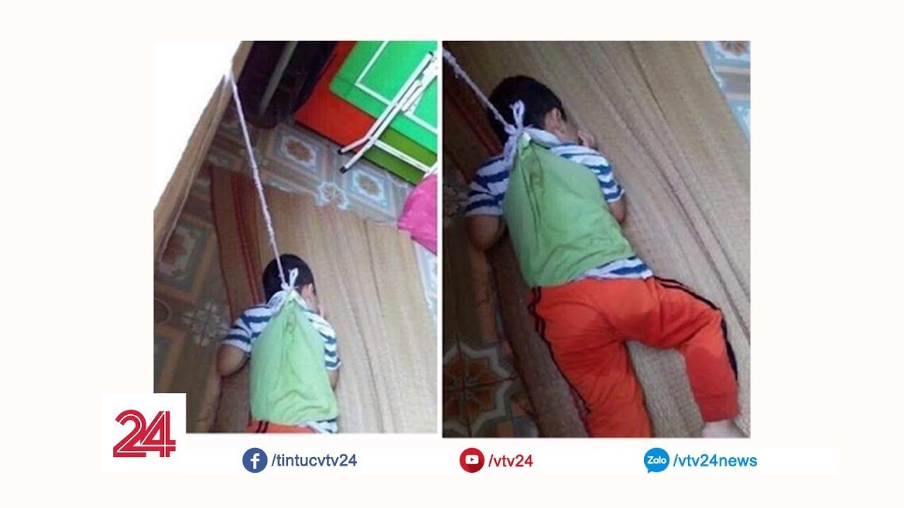 Nam Định đình chỉ cô giáo buộc học sinh vào cửa sổ   VTV24
