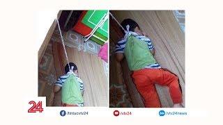 Nam Định đình chỉ cô giáo buộc học sinh vào cửa sổ | VTV24
