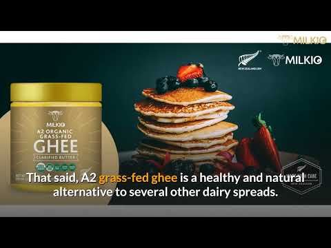 A2 milk ghee: A superfood in the kitchen.