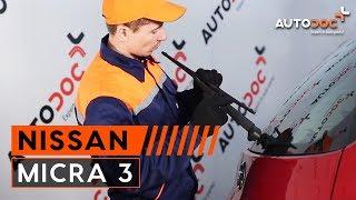 Fjerne Viskerblader NISSAN - videoguide