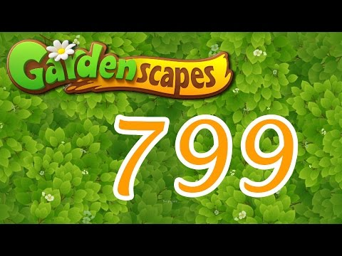 Gardenscapes level 799