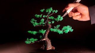 3D pen | Making Pine tree | 3D펜 장인의 소나무 만들기