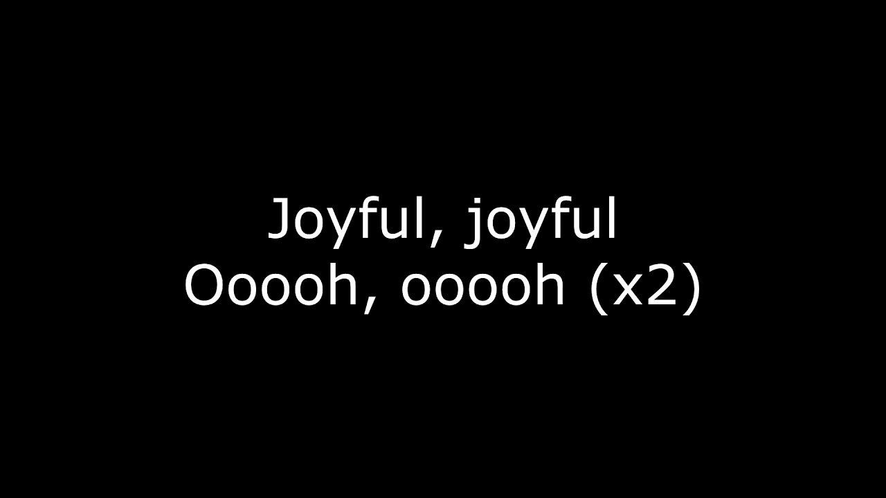 X Ambassadors - JOYFUL (Lyrics) - YouTube
