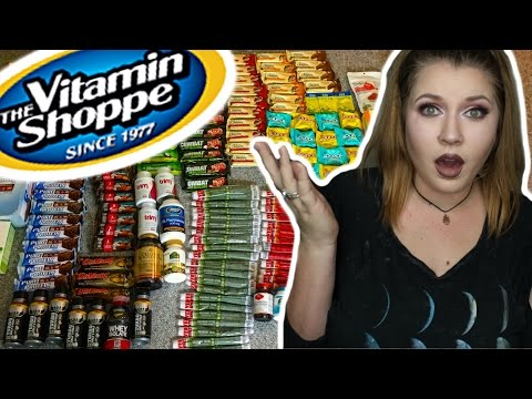 DUMPSTER DIVING HAUL   Vitamin Shoppe