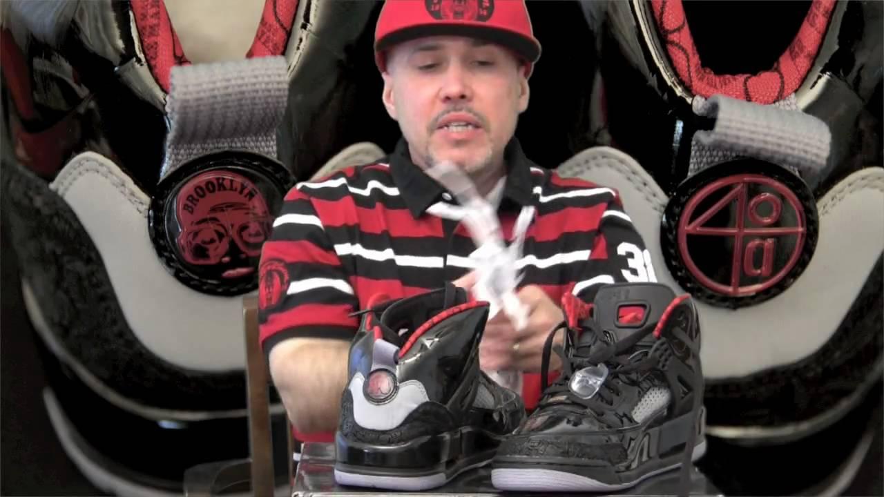 huge selection of 0c4e8 041b8 Air Jordan Spizike Stealth Black XX SneakGeekZ - YouTube
