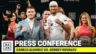 Canelo vs. Kovalev Final Press Conference