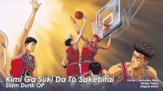 VocaPanda sings Kimi Ga Suki Da To Sakebitai (female version) from Slam Dunk