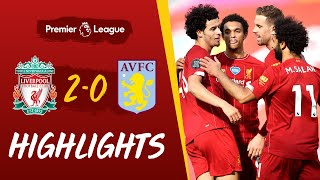 Highlights: Liverpool 2-0 Aston Villa | Curtis Jones scores his first Premier League goal