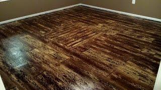 Painted Plywood Floors - Boat Deck 03 - Completed Wood Grain
