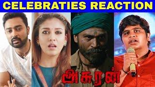 Asuran Official Trailer Celebrities Reaction | Dhanush, Vetrimaran | Nayanthara | GV Prakash Kumar