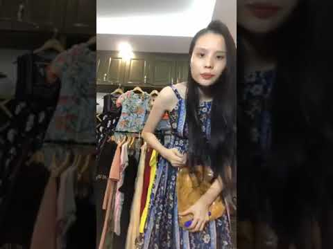 The girl sells clothes and the ending is very unexpected.