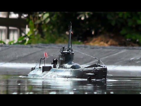 ラジコン 伊号第二十五潜水艦  Radio Control イ-25th Submarine