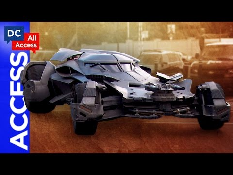 Up-Close Look @ NEW Batmobile! + Catwoman DLC
