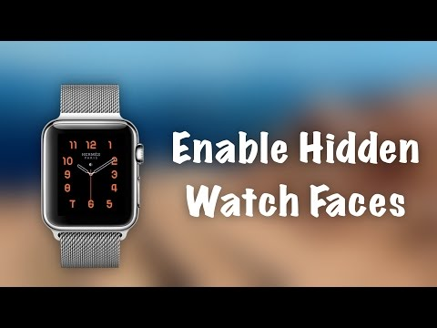 How to Use HIDDEN Watch Faces on Apple Watch  Unlock Hermes and Nike watch faces