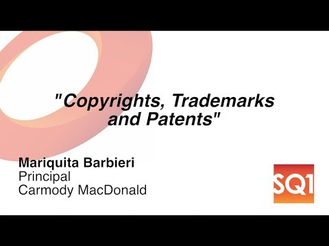 Copyrights, Trademarks and Patents