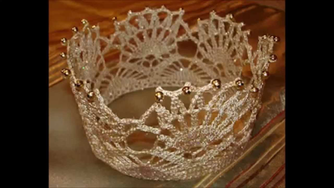 Crochet Crown and Tiara Free Pattern - YouTube