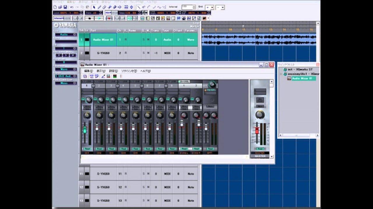 Yamaha s-yxg50 virtual synthesizer +midi player editor +1. 2 gb.