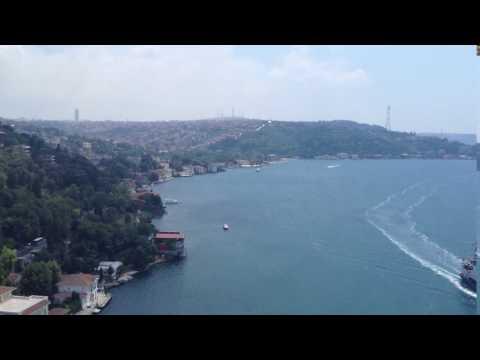 130713 Istanbul to Ankara 1 Bosphorus