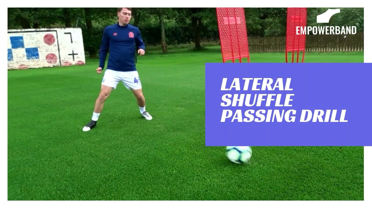 Ankle Strengthening & Rehabilitation Exercise For Football Players; Lateral Passing Drill