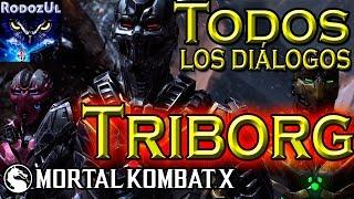 Todos los diálogos de Triborg en Mortal Kombat X: ¡El Cyber Lin Kuei Vive!. (Español Latino)