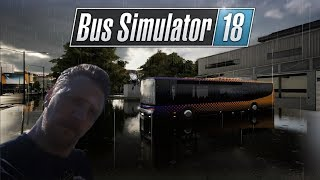 Bus Simulator 18 - Incredible Weather effects + Ride along  (Ep6)