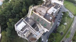 Tajemniczy dom na bloku na ul. Północnej Jastrzębie Zdrój DJI Phantom 2